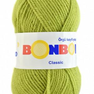 Fir de tricotat sau crosetat - Fire tip mohair din acril BONBON CLASIC 98229