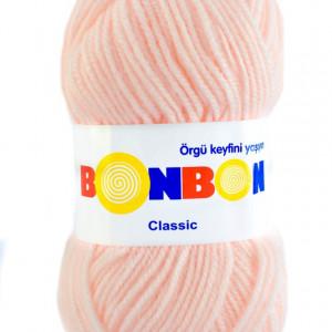 Fir de tricotat sau crosetat - Fire tip mohair din acril BONBON CLASIC FREZ 98335