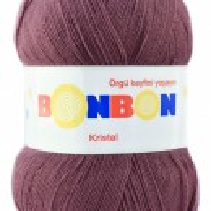 Fir de tricotat sau crosetat - Fire tip mohair din acril BONBON KRISTAL 98303