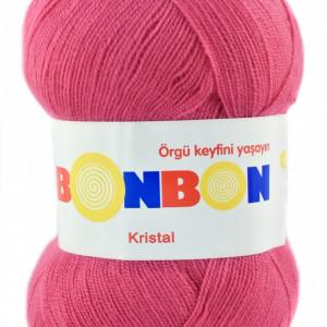 Fir de tricotat sau crosetat - Fire tip mohair din acril BONBON KRISTAL 98319