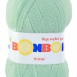 Fir de tricotat sau crosetat - Fire tip mohair din acril BONBON KRISTAL VERNIL 98329