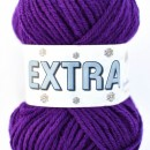 Fir de tricotat sau crosetat - Fire tip mohair din acril CANGURO -EXTRA MOV- 332