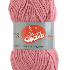 Fir de tricotat sau crosetat - Fire tip mohair din acril CANGURO - TRIS ROZ 398
