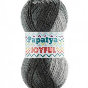 Fir de tricotat sau crosetat - Fire tip mohair din acril Kamgarn Papatya Joyful degrade 06