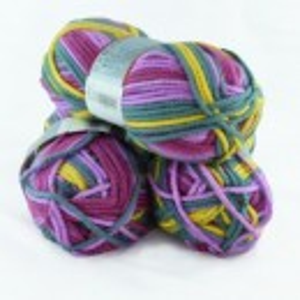 Fir de tricotat sau crosetat - Fire tip mohair din acril Nako Export - #5472