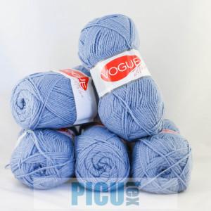 Fir de tricotat sau crosetat - Fire tip mohair din acril Nako Export - #6366