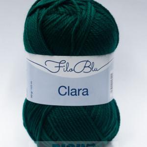 Fir de tricotat sau crosetat - Fire tip mohair din poliester Filo Blu - Clara 16
