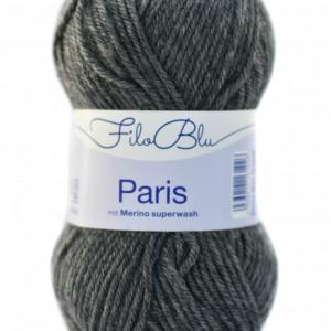 Fir de tricotat sau crosetat - Fire tip mohair din poliester Filo Blu - PARIS - 07 - GRI