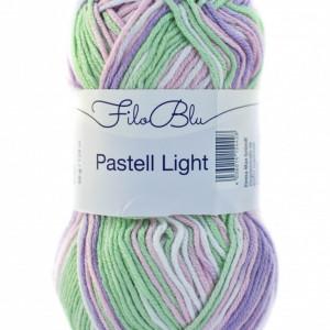 Fir de tricotat sau crosetat - Fire tip mohair din poliester Filo Blu - PASTELL LIGHT 02