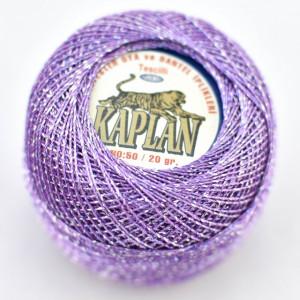 Fir de crosetat polyester + lurex KAPLAN 552