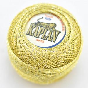 Fir de crosetat polyester + lurex KAPLAN 742