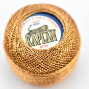 Fir de crosetat polyester + lurex KAPLAN 780