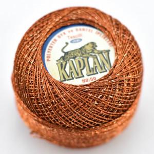 Fir de crosetat polyester + lurex KAPLAN 918