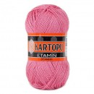 Fir de tricotat,brodat sau crosetat - Fir KARTOPU ETAMIN ROZ 800
