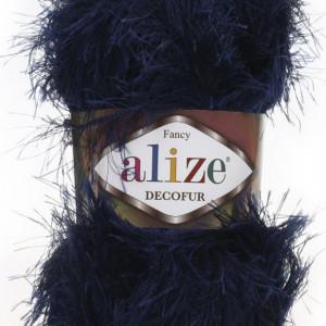 Fir de tricotat sau crosetat - FANCY - ALIZE DECOFUR BLEOMAREN 58