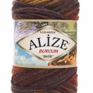 Fir de tricotat sau crosetat - Fir ACRILIC ALIZE BURCUM BATIK DEGRADE 3379