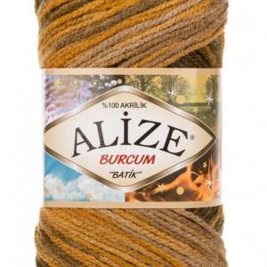 Fir de tricotat sau crosetat - Fir ACRILIC ALIZE BURCUM BATIK DEGRADE 5850