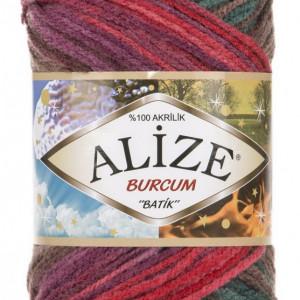 Fir de tricotat sau crosetat - Fir ACRILIC ALIZE BURCUM BATIK DEGRADE 3368