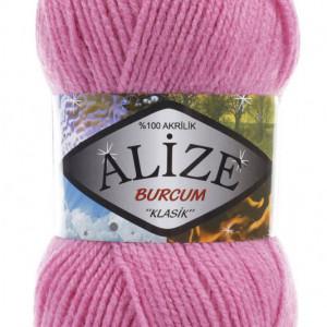 Fir de tricotat sau crosetat - Fir ACRILIC ALIZE BURCUM KLASIK ROZ 178