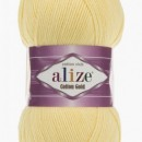 Fir de tricotat sau crosetat - Fir ALIZE COTTON GOLD GALBEN 187
