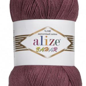 Fir de tricotat sau crosetat - Fir BUMBAC 100% ALIZE BAHAR MOV 470