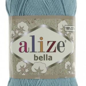 Fir de tricotat sau crosetat - Fir BUMBAC 100% ALIZE BELLA - BLEO 462