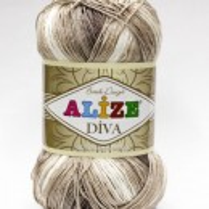 Fir de tricotat sau crosetat - Fir microfibra ALIZE DIVA BATIK DEGRADE 1815
