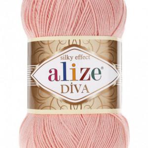 Fir de tricotat sau crosetat - Fir microfibra ALIZE DIVA FREZ 145