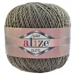 Fir de tricotat sau crosetat - Fire Alize Aura - Maro - 540