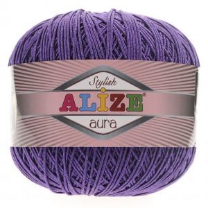 Fir de tricotat sau crosetat - Fire Alize Aura - Mov - 44