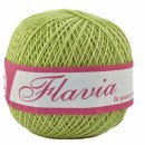 Fir de tricotat sau crosetat - Fire Bumbac 100% FLAVIA ROMANOFIR BOBINA VERDE 1262