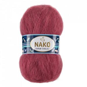 Fir de tricotat sau crosetat - Fire tip mohair acril NAKO MOHAIR DELICATE - ROZ COD 327