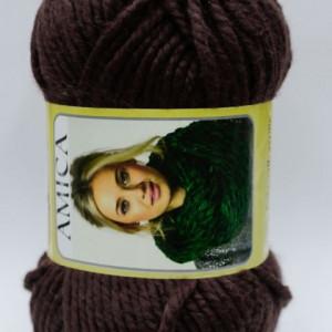 Fir de tricotat sau crosetat - Fire tip mohair din acril AMICA MARO - 329