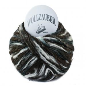 Fir de tricotat sau crosetat - Fire tip mohair din acril CANGURO - Wollzauber - DEGRADE 3