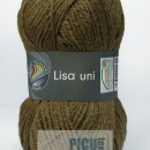 Fir de tricotat sau crosetat - Fire tip mohair din acril GRUNDL LISA UNI BEJ 22