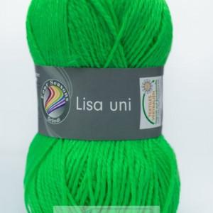 Fir de tricotat sau crosetat - Fire tip mohair din acril GRUNDL LISA UNI VERNIL (FLUO) 29