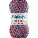Fir de tricotat sau crosetat - Fire tip mohair din acril Kamgarn Papatya Joyful degrade 07