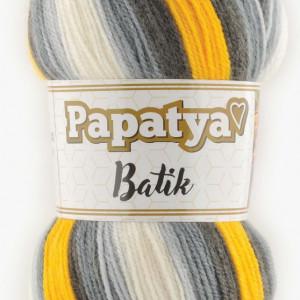Fir de tricotat sau crosetat - Fire tip mohair din acril Kamgarn Papatya Batik degrade 45