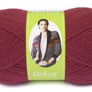 Fir de tricotat sau crosetat - Fire tip mohair din acril premium Nako REKOR GRENA 1001