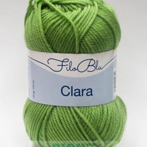 Fir de tricotat sau crosetat - Fire tip mohair din poliester Filo Blu - Clara 11