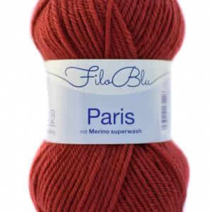 Fir de tricotat sau crosetat - Fire tip mohair din poliester Filo Blu - PARIS - 03 - ROSU