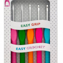 PONY EASY CROCHET - set crosete un singur capat si maner ergonomic