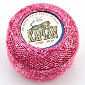 Fir de crosetat polyester + lurex KAPLAN 600