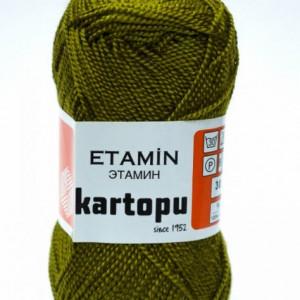 Fir de tricotat,brodat sau crosetat - Fir KARTOPU ETAMIN KAKI - 395