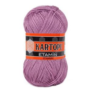 Fir de tricotat,brodat sau crosetat - Fir KARTOPU ETAMIN LILA 797