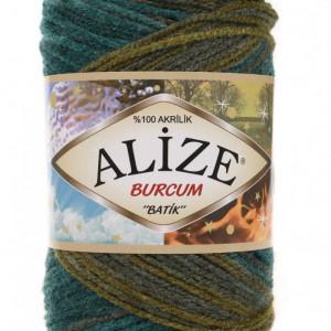 Fir de tricotat sau crosetat - Fir ACRILIC ALIZE BURCUM BATIK DEGRADE 4684