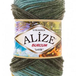 Fir de tricotat sau crosetat - Fir ACRILIC ALIZE BURCUM BATIK DEGRADE 7099
