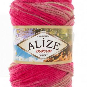 Fir de tricotat sau crosetat - Fir ACRILIC ALIZE BURCUM BATIK DEGRADE 7157