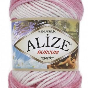 Fir de tricotat sau crosetat - Fir ACRILIC ALIZE BURCUM BATIK DEGRADE 1602