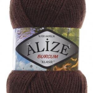 Fir de tricotat sau crosetat - Fir ACRILIC ALIZE BURCUM KLASIK MARO 493